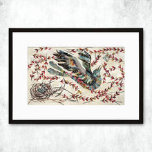 Load image into Gallery viewer, Dolan Geiman Signed Print Mockingbird