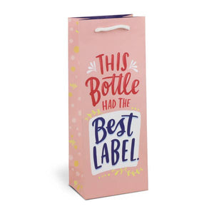 Best Label Wine Bag