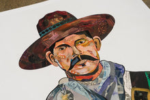 Load image into Gallery viewer, Dolan Geiman Signed Print Vaquero (Tigers)