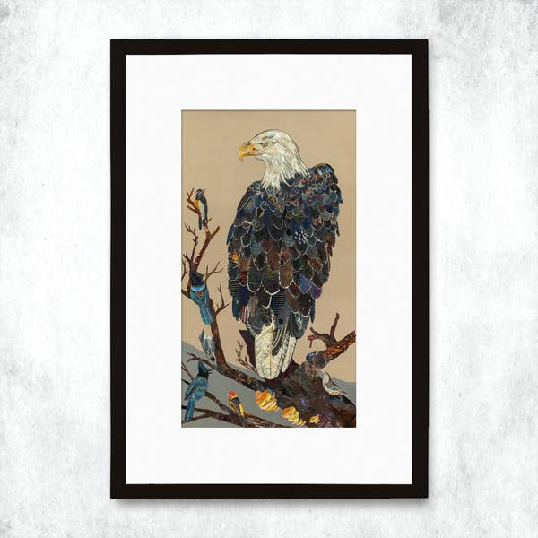 Dolan Geiman Signed Print Eagles Disciples of the Canyon