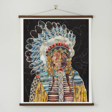 Dolan Geiman Signed Print Chief (Constellation)