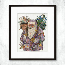 Load image into Gallery viewer, Dolan Geiman Signed Print Santa (2017)