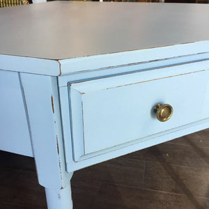 Antique Blue Chalk Based Paint