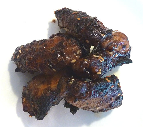 Spicy Soy-Braised Wings