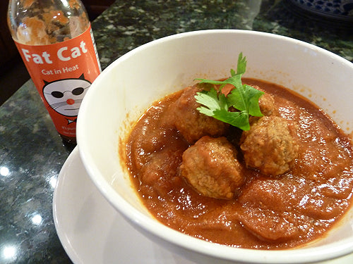 Spicy Moroccan-Style Meatballs