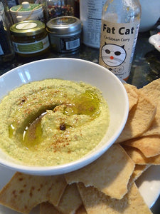 Caribbean Curry-Spiked Hummus