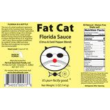 Florida Sauce Citrus and Datil Pepper Blend - Fat Cat Gourmet Hot Sauce & Specialty Condiments