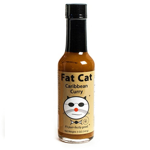 Caribbean Curry Scotch Bonnet Pepper Sauce - Fat Cat Gourmet Hot Sauce & Specialty Condiments