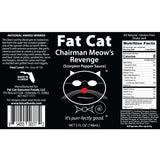 Chairman Meow's Revenge: Scorpion Pepper Sauce - Fat Cat Gourmet Hot Sauce & Specialty Condiments