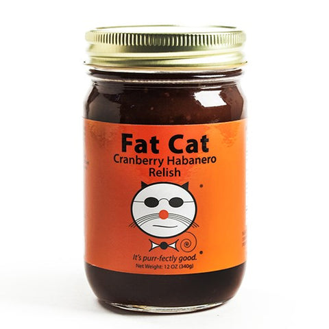 Fat Cat Cranberry Habanero Relish
