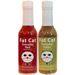 Christmas Colors Hot Sauce Two Pack Bundle - Fat Cat Gourmet Hot Sauce & Specialty Condiments