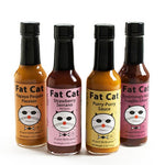 "Fat Cat ""Mild Sauce"" 4 Pack Hot Sauce Bundle - Fat Cat Gourmet Hot Sauce & Specialty Condiments"