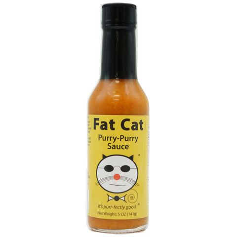 Purry-Purry Sauce - Fat Cat Gourmet Hot Sauce & Specialty Condiments