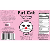 Strawberry Serrano Hot Sauce - Fat Cat Gourmet Hot Sauce & Specialty Condiments