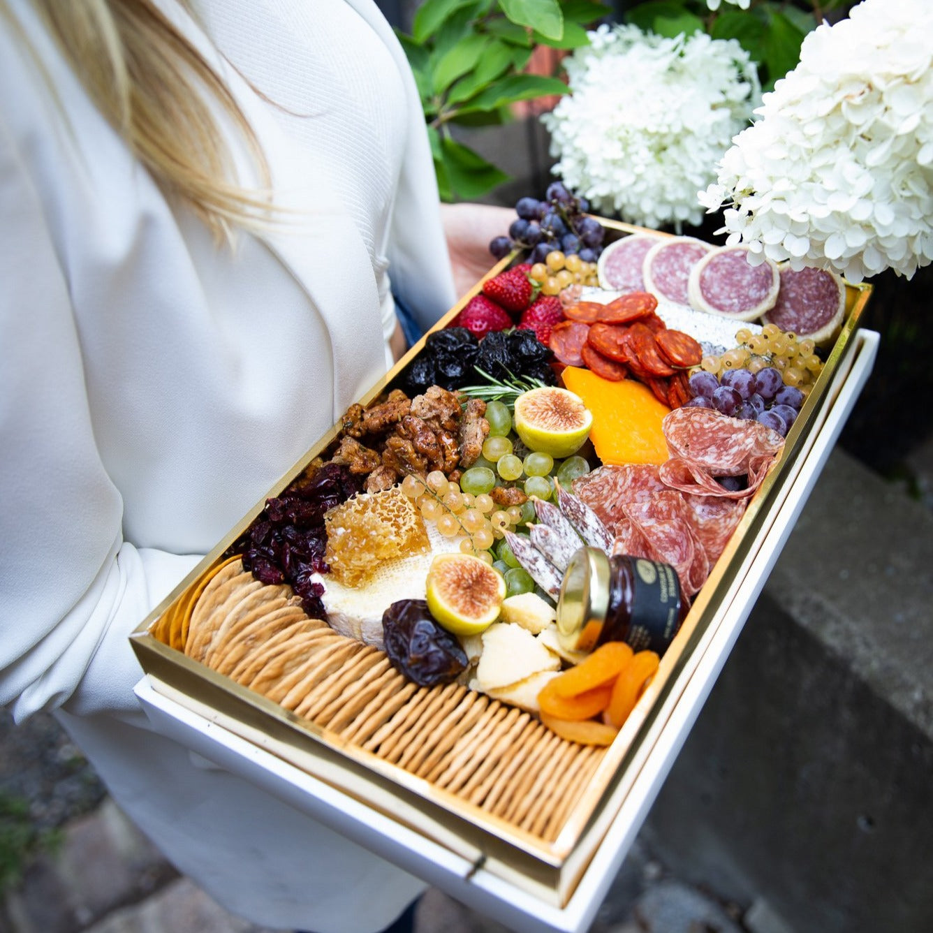 Gold Luxury Grazing Box