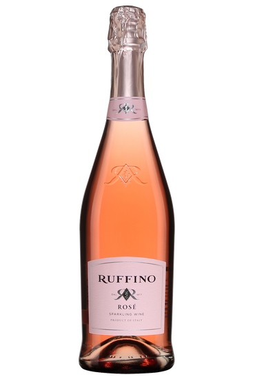 Rose Sparkling wine, Extra dry, Ruffino, Toscana, V.D.T.