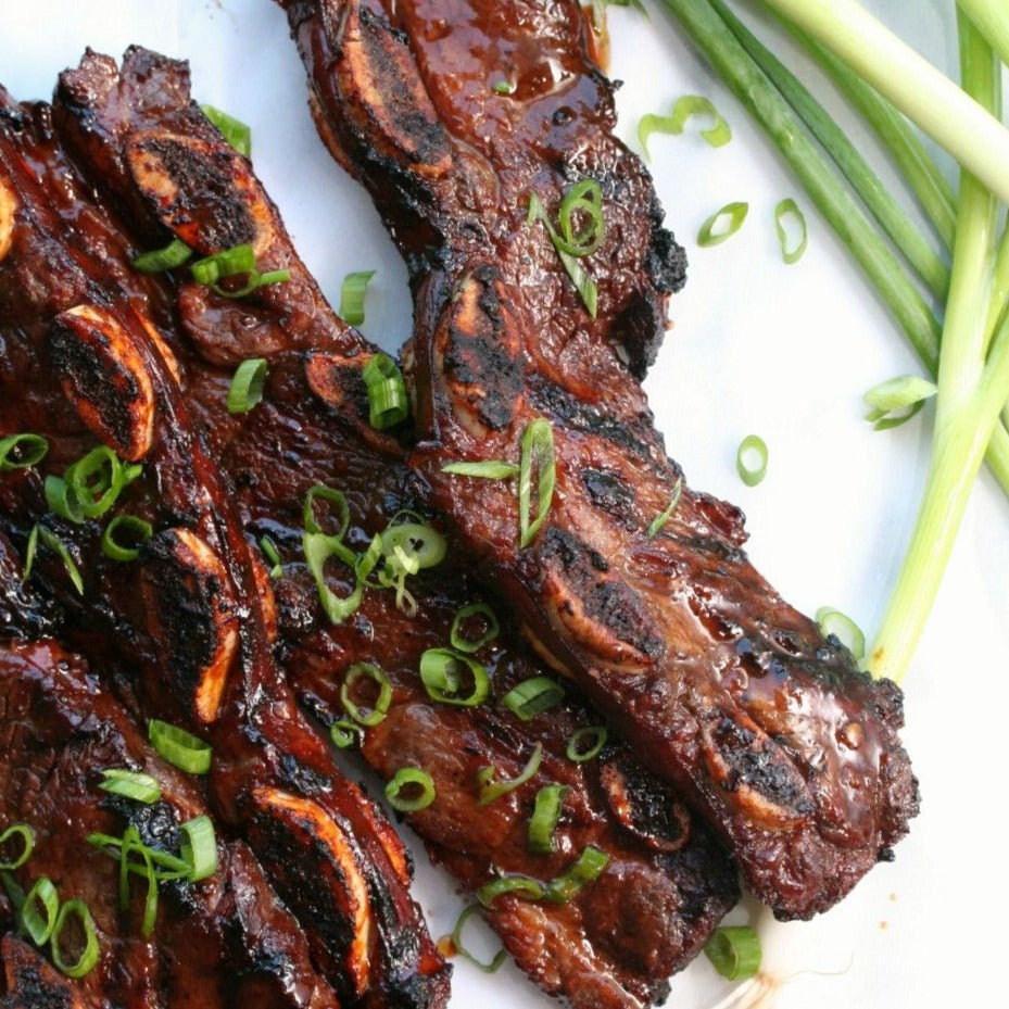 Grilled Korean Short Rib in Bulgogi Marinate (9 pieces)