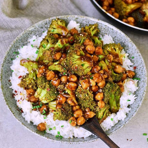 Broccoli stir fry with rice (kids)