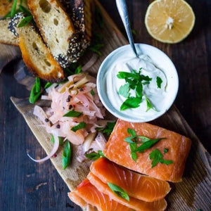 House salmon gravlax (1 pound)
