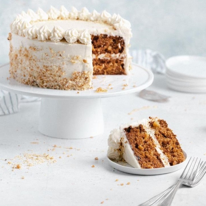 The carrot cake