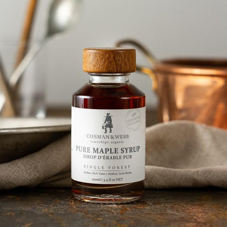 Pure Maple Syrup from Cosman & Webb