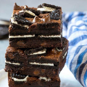 Oreo & cheese cake  brownie (3)