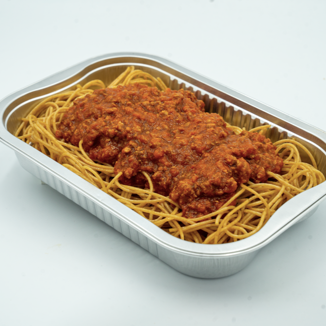 FIT MEAL : Whole Wheat Spaghetti with Turkey Bolognese Sauce