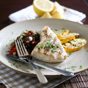 Grilled Blue Marlin (2 portions)