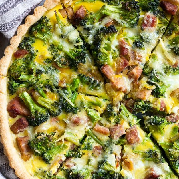 Ham and Broccoli Pie