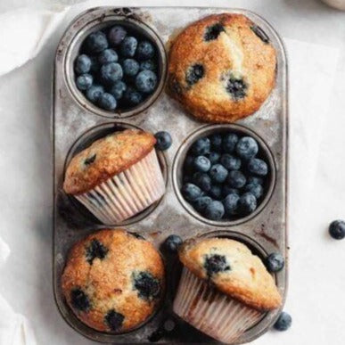 Blueberry and Bran Muffin (2)