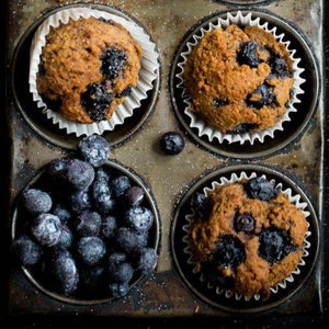 Blueberry and Bran Muffin (6)