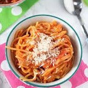 Spaghetti with tomato sauce (kids)