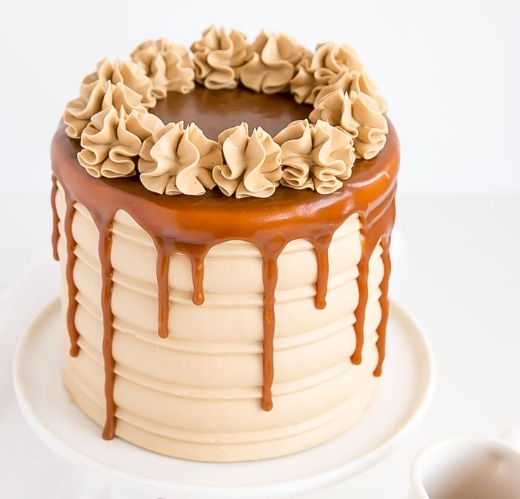 Chocolate and Salted Caramel Cake
