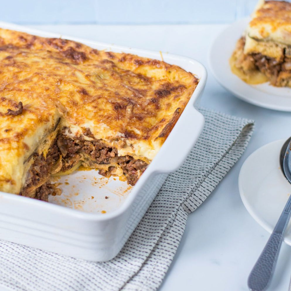 Turkey moussaka