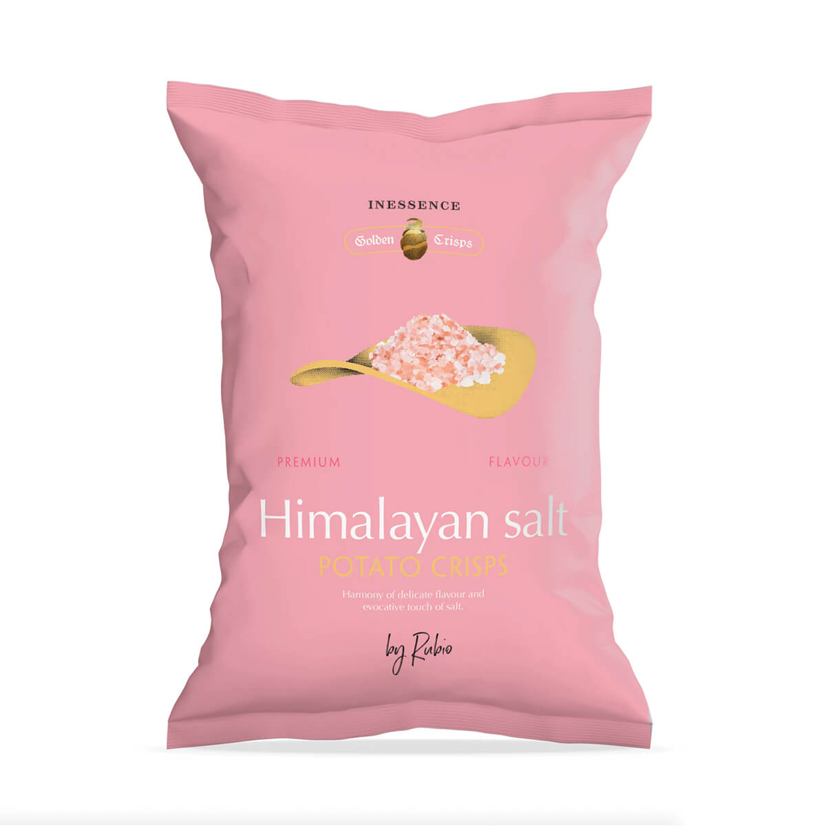 Inessence Potato Chips Rose Himalayan Salt Flavoured