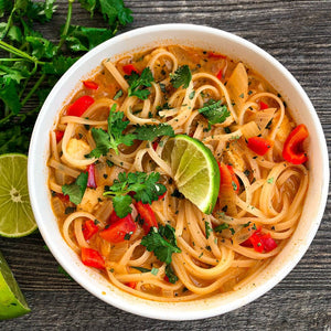 Thai Red Curry Soup Bowl