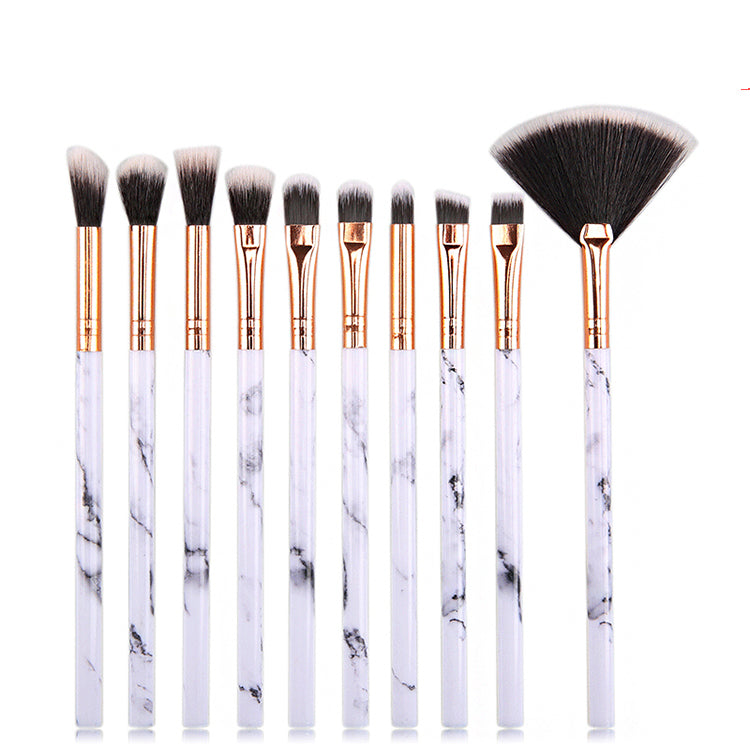 Marble 10-Piece Face Set