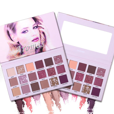 Pink Shimmer Eyeshadow Palette