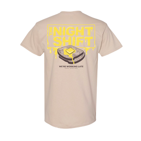 Buttery Toast Tee - shopthenightshift