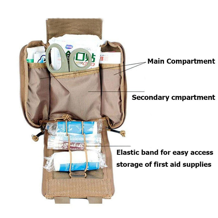 Tactical First Aid Pouch