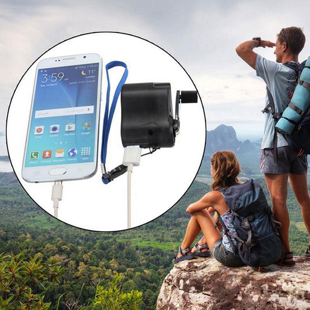 Portable Self-Charged Powerbank