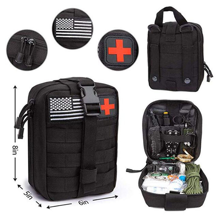 47-in-1 First Aid Survival Kit