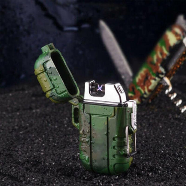 Camouflage Electronic Lighter