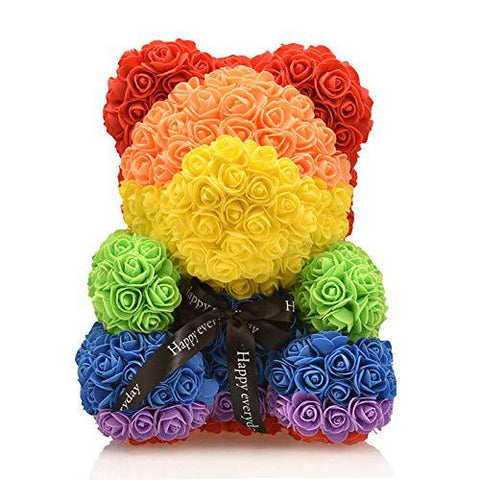 Luxury Rainbow Love Bear (15.7 inches)
