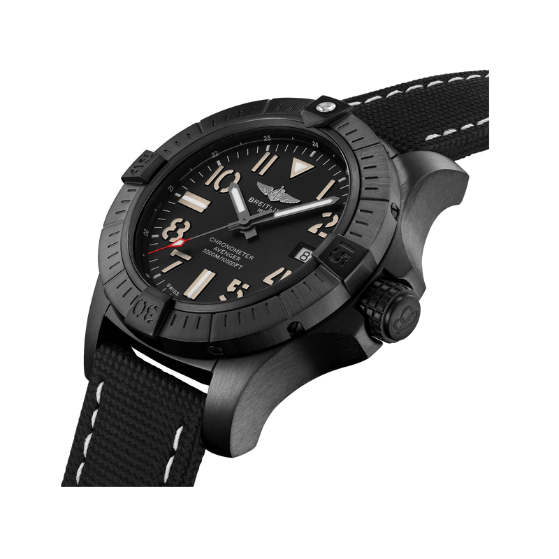Super Avenger Chronograph 45 Seawolf Night Mission