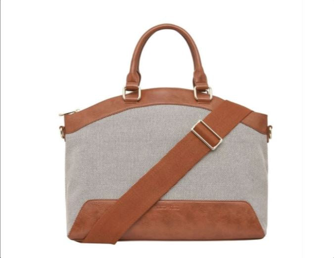 Elms King Bronte Work Bag Tan
