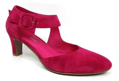 Django & Juliette Trinities Red Suede