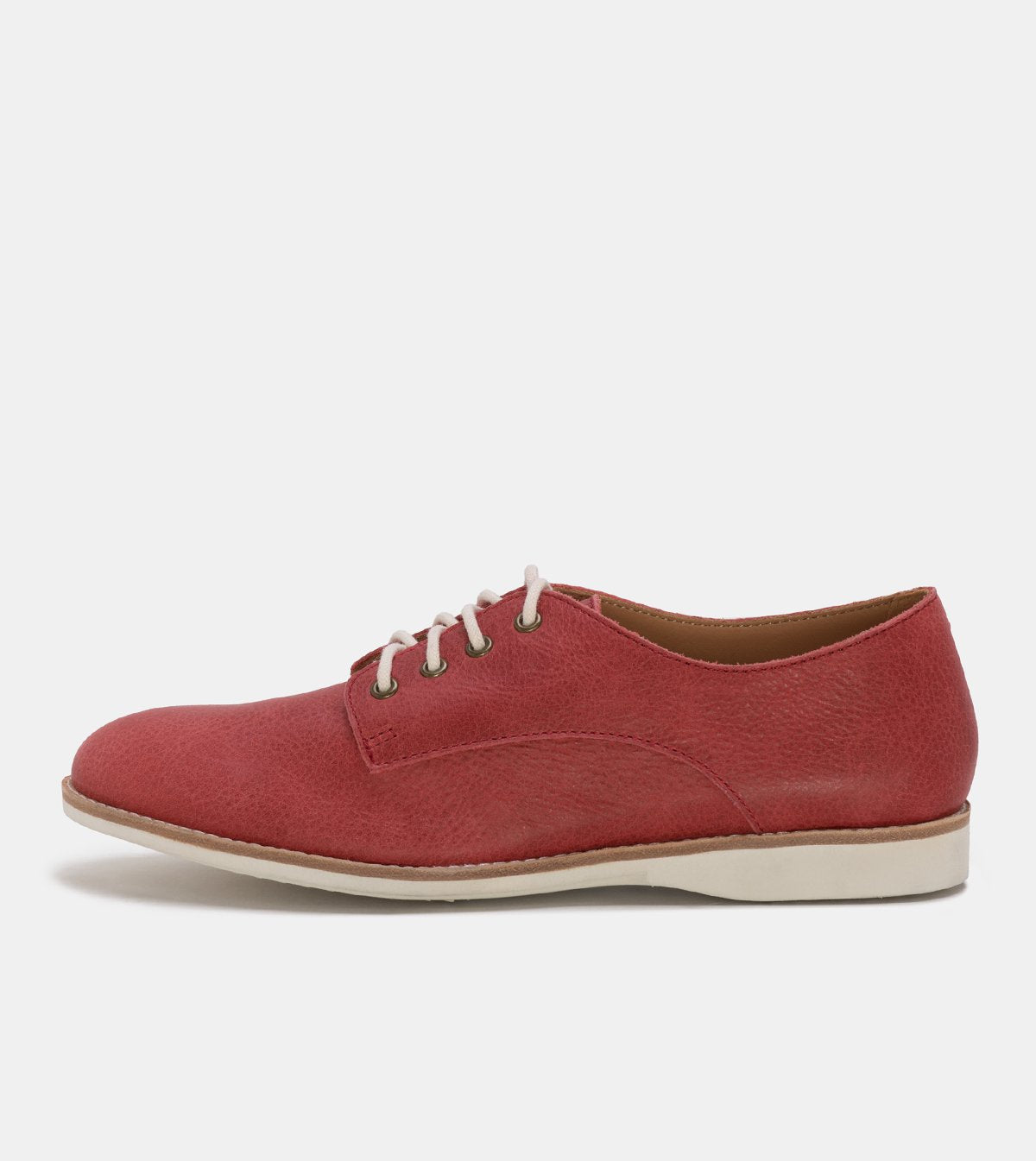 Rollie Derby Unlined Red