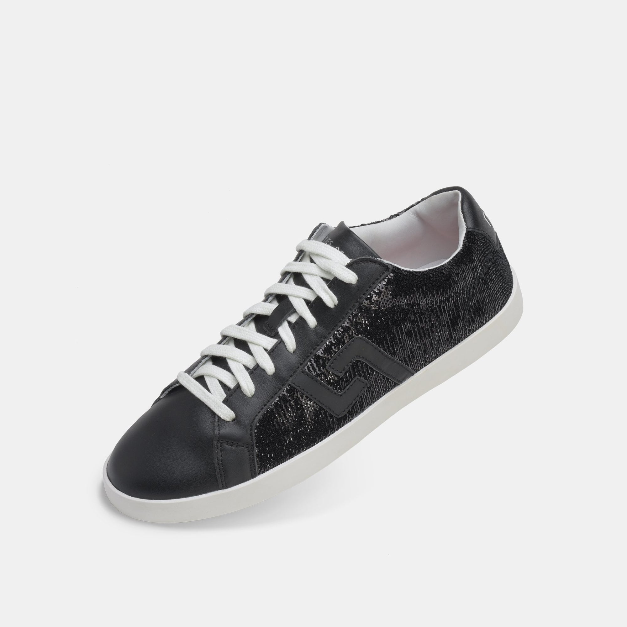 Rollie Prime Sneaker Black Sequins