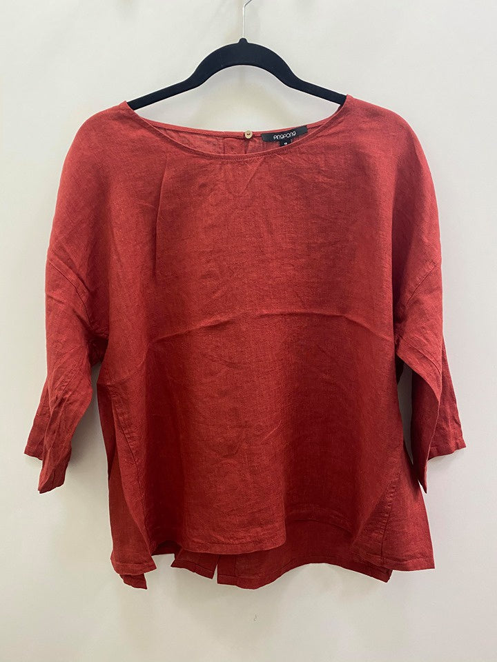 Pingpong Boxy Top Red